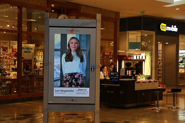 Oakridge Mall Screens Shopping Mall Advertising