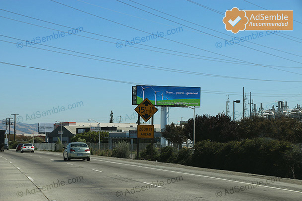 santa clara california digital billboard